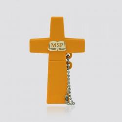 Memoria USB promocional en forma de cruz MSP