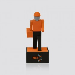 Memoria USB promocional en forma de personaje NET