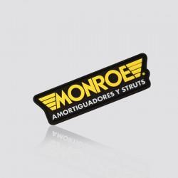 Parche promocional en forma de logo MONROE