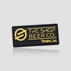 Parche promocional en forma de logo THE SHOP BEER CO