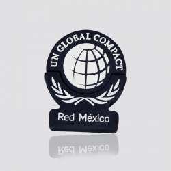Memoria USB  promocional en forma de logo RED MÉXICO