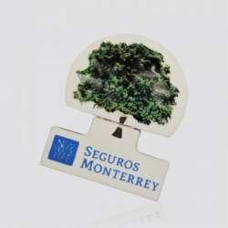 Memoria USB  promocional en forma de logo SEGUROS MONTERREY