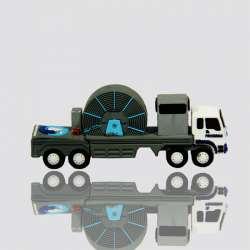 memoria usb promocional en forma de camion industrial