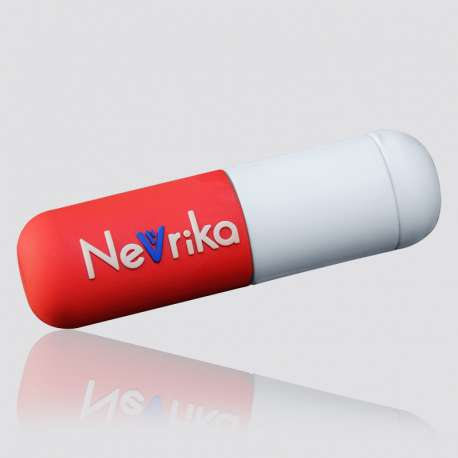 POWER BANK promocional en forma de capsula NEVRIKA