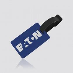 Identificador de maletas promocional en forma de logo EATON