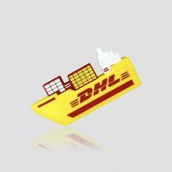 Memoria USB promocional en forma de barco DHL