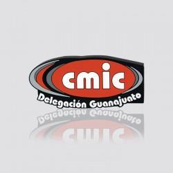 POWER BANK promocional en forma de logo CMIC DELEGACIÓN GUANAJUATO