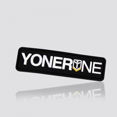 Parche promocional en forma de logo YONERNE