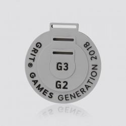 Pieza de pvc promocional GRIT GAMES GENERATION 2018