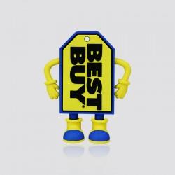 POWER BANK promocional en forma de logo BEST BUY