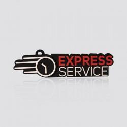 Memoria USB promocional en forma de logo EXPRESS SERVICE