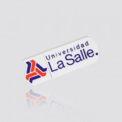 Memoria USB promocional en forma de logo LA SALLLE
