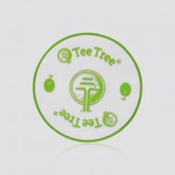 Porta vasos promocional en forma de logo TEE TREE