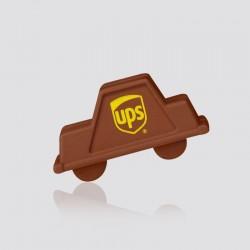 Goma promocional en forma de carrito UPS