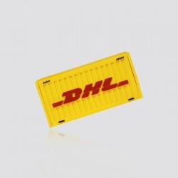 Bocina promocional en forma de contenedor DHL