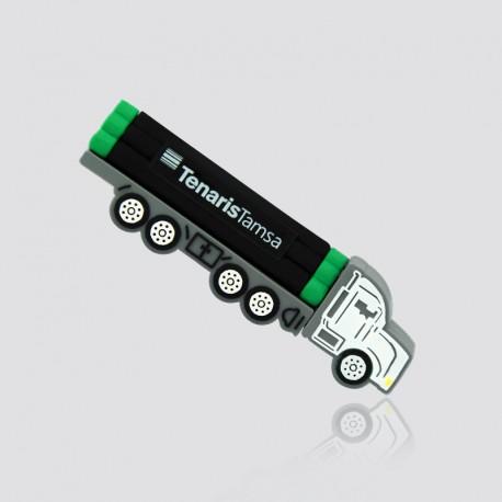 Memoria USB promocional en forma de camión de carga TENARISTAMSA