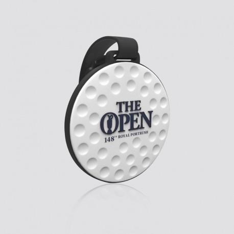 Identificador de maletas promocional en forma de pelota de golf THE OPEN
