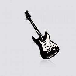 Memoria USB promocional en forma de guitarra TUPPERWARE