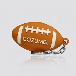 Llavero promocional en forma de balón COZUMEL