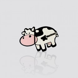 Memoria USB promocional en forma de vaca MASTIVAC