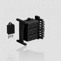 Memoria USB promocional en forma de TRANSFORMADOR