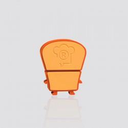 Memoria USB promocional en forma de PANESITO