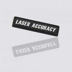 parche publicitario de plastico suave laser accuracy
