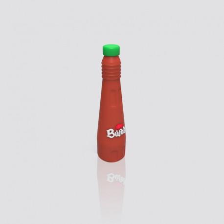 POWER BANK promocional en forma de botella de salsa BÚFALO