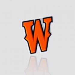 Decals promocional en forma de W
