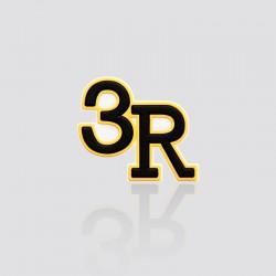 Parche promocional en forma de 3R