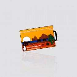 Identificador de maletas promocional en forma de paisaje SHERWIN WILLIAMS