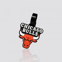 Identificador de maletas promocional en forma de  toro CHICAGO BULLS