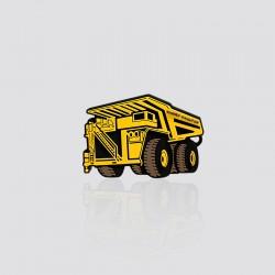 Imán promocional en forma de camión de carga KOMATSU