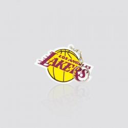 Llavero promocional en forma de balón LOS ANGELES LAKERS