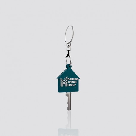 Cubre llaves promocional en forma de casa MADISON AVENUE GROUP