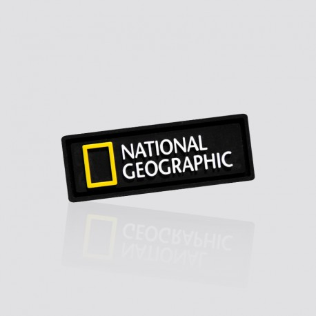 Parche promocional NATIONAL GEOGRAPHIC