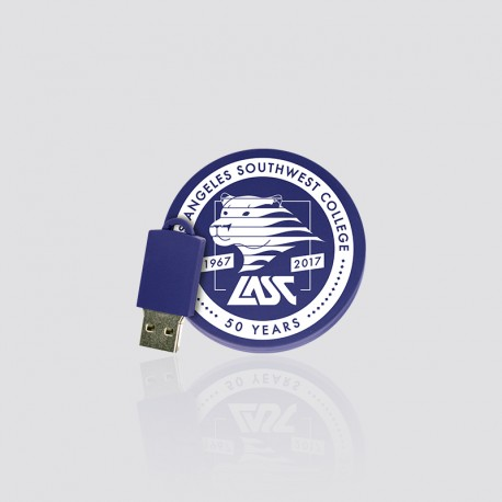 Memoria USB promocional en forma de escudo LASC