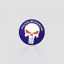 Parche promocional POLICÍA MICHOACÁN