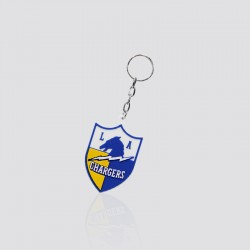 Llavero promocional en forma de escudo CHARGERS