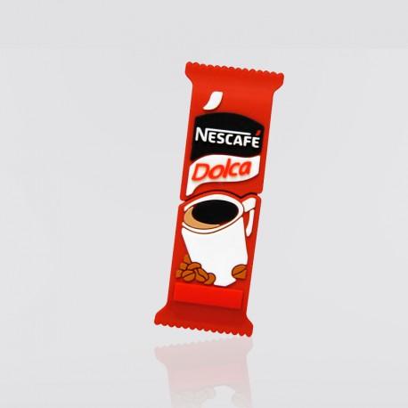 Memoria USB promocional en forma de sobre de café NESCAFÉ