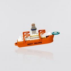 Memoria USB promocional en forma barco WEST POLARIS