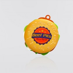 Memoria USB promocional en forma de hamburguesa BEEF PITS
