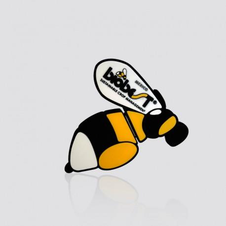 Memoria USB promocional en forma de abeja BIOBEST