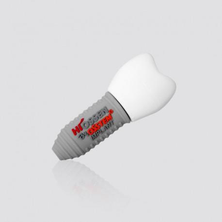 Memoria USB promocional en forma de implante de diente HIOSSEN