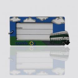 identificador de maletas publicitario de plastico promocional carris