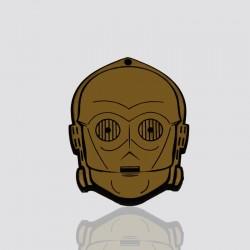 llavero promocional en forma de personaje star wars C3PO