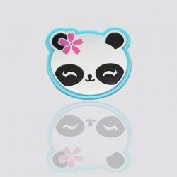 parche promocional de plastico suave panda