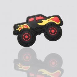 parche promocional de plastico suave monster truck