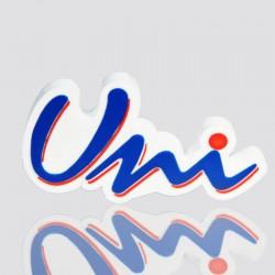 memoria usb promocional en forma de logo universidad