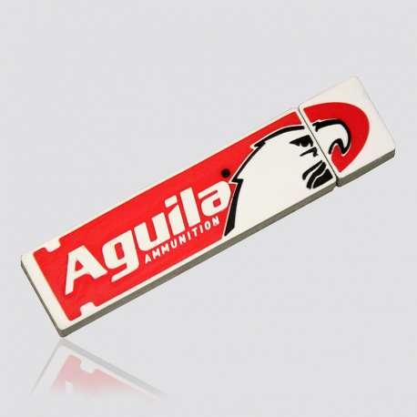 Memoria USB  promocional en forma de logo AGUILA
